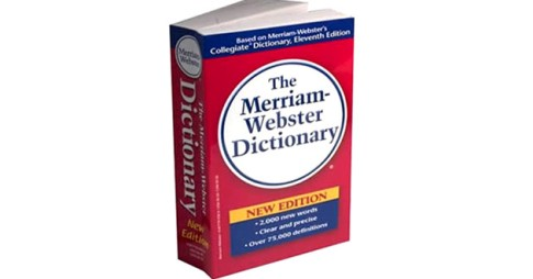 How pompous can you be, Merriam-Webster?