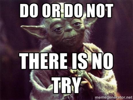 Amen, Yoda. Amen.