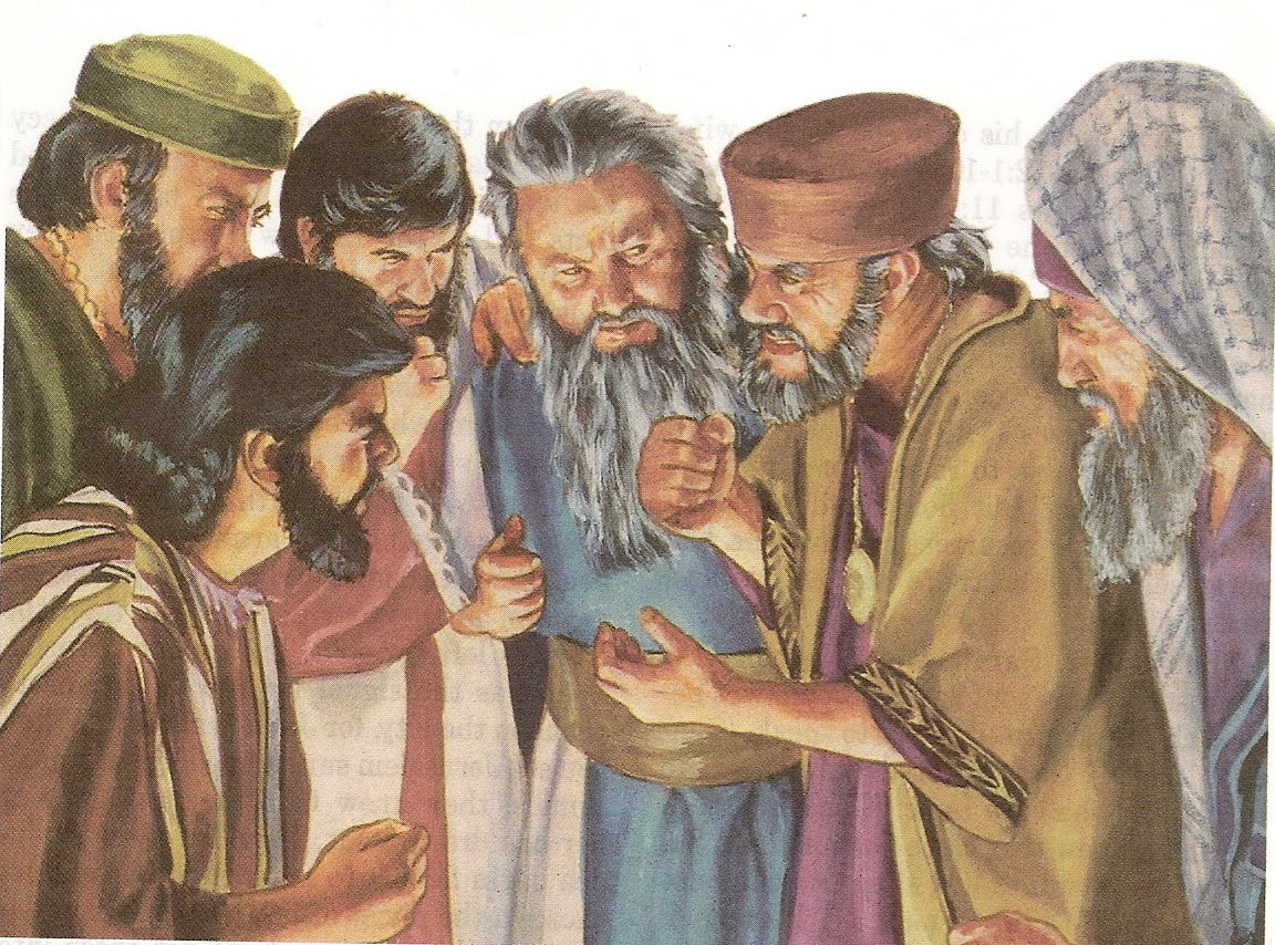 Pharisees And Jesus