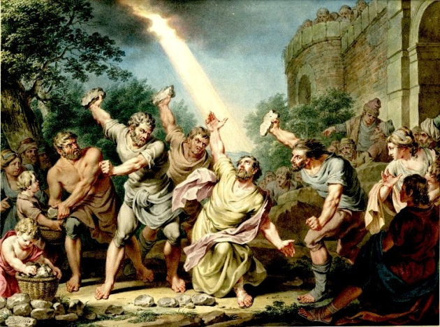 stoning of paul the apostle